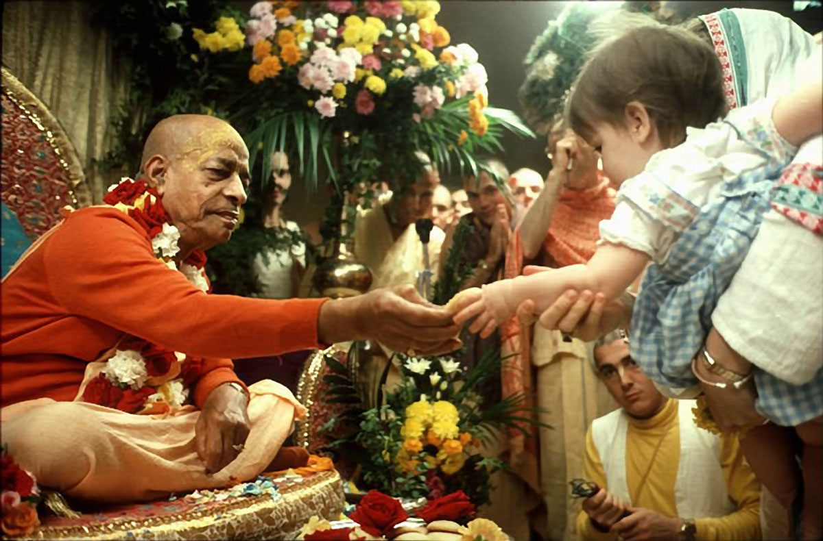 grooming children for vedic culture Krishna consciousness