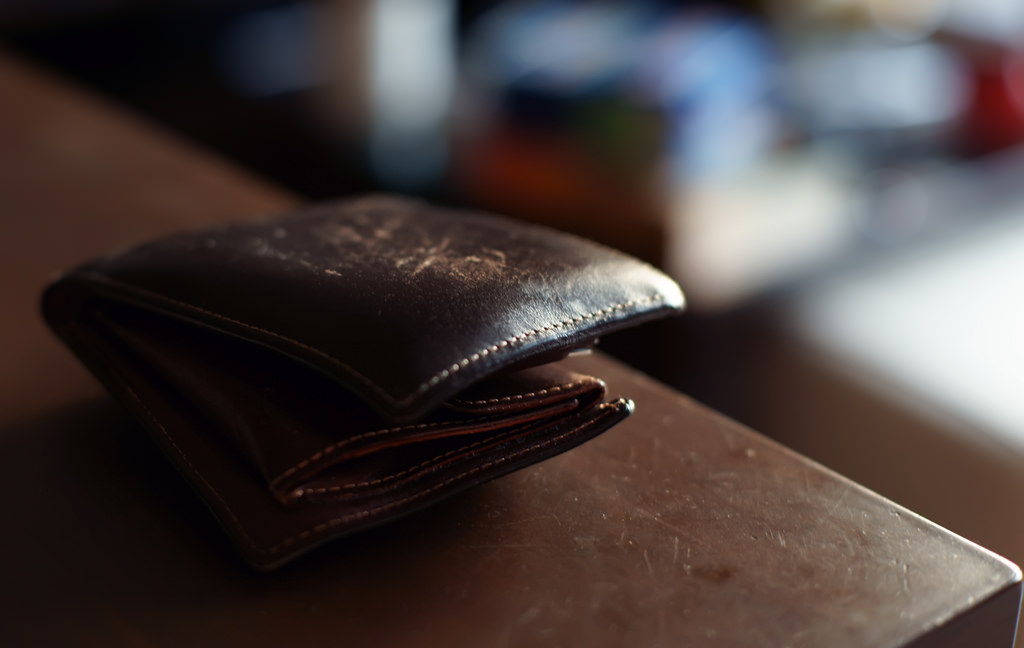 don't be a wallet