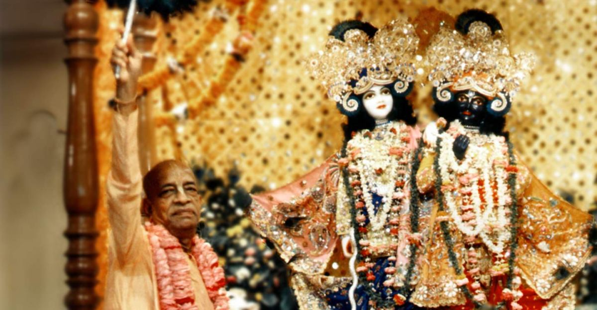 srila prabhupada on deity worship arcana siddhi